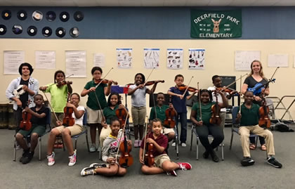 Music School in Florida - Classical Music Education - Steps